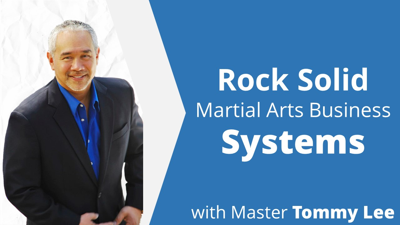 Martial Arts Business Instructor Lee