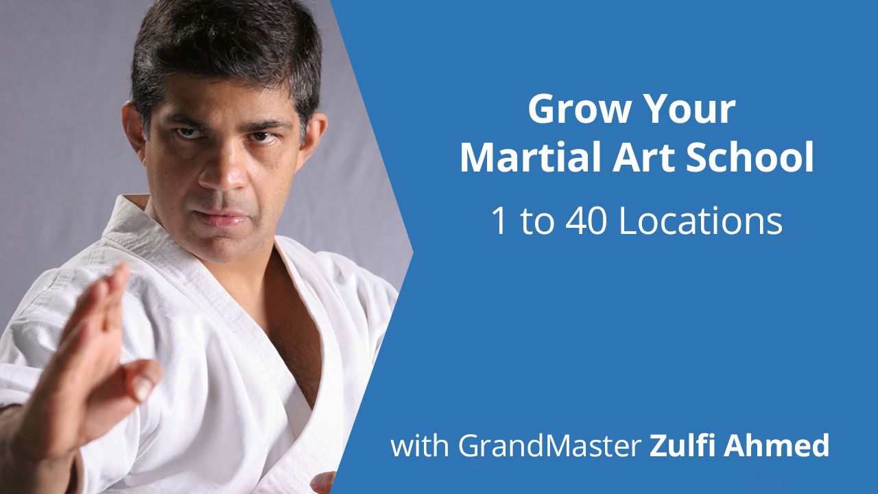 Martial Arts Business Instructor Ahmed